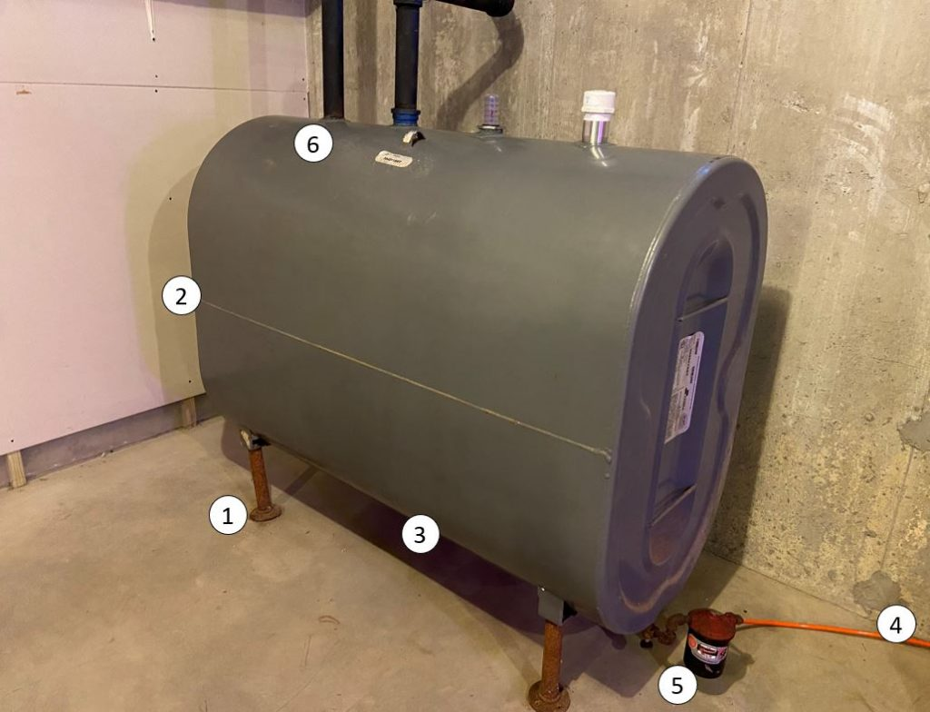 How To Inspect A Home Heating Oil Tank And What To Look For Ct Oil