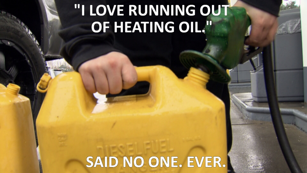 diesel is a substitute for heating oil